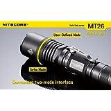 NITECORE MT26 Multi-Task CREE XM-L U2 LED Flashlight - 800 Lumens