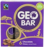 Traidcraft Chocolate Geobar 32 g (Pack of 6, Total 36 Bars)