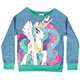 My Little Pony Princess Celestia Girls Pullover Sweatshirt