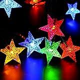NNIUK 40 LED Stern Fee Schnur Licht Batteriebetriebene für Weihnachtsfest