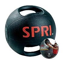 SPRI Dual Grip Xerball, 8-Pound