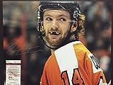Autographed/Signed Sean Couturier Smiling 16x20 Philadelphia Flyers Hockey Photo JSA COA