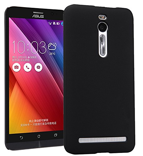 【ShineZone】オリジナル Asus Zenfone 2 (ZE551ML)専用 超薄型スリムケース最軽量 高品質 保護カバー(ブラック)