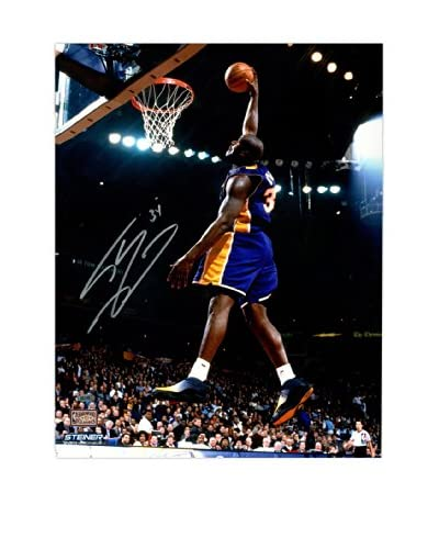 Steiner Sports Memorabilia Shaquille O'Neal Signed Lakers Dunk Photo