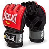 Everlast Men&#039;s MMA Grappling Gloves - Red, Small/Medium