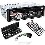 MP3WAVWMA-Autoradio-inkl-Fernbedienung-USB-Anschluss-SD-SDHC-MMC-Karten-Slot
