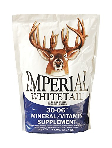 Whitetail Institute 30-06 Mineral/Vitamin Deer Mineral Supplement, 5-Pound (Imperial Food Plot Seed compare prices)