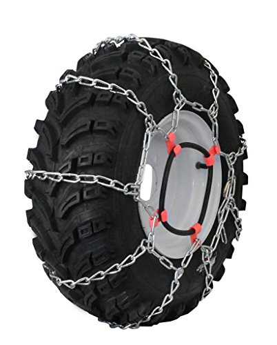 Grizzlar GTU-435 Garden Tractor 4 Link Ladder Alloy Tire Chains Tensioner included 27x12.50-15 29x12.00-15 (13 X 4 Tire Chains compare prices)