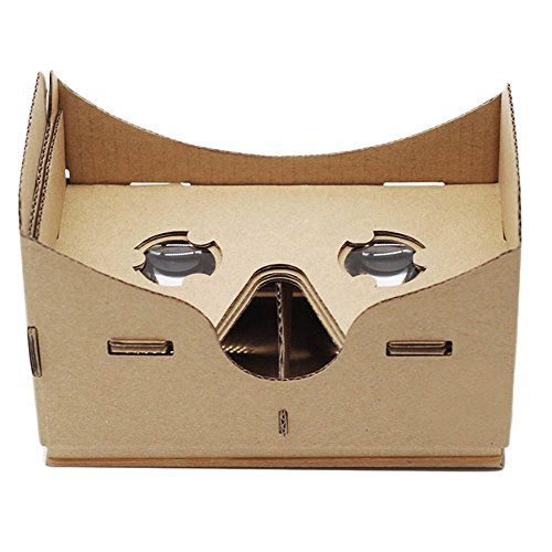 niceEshop(TM) Google Cardboard, DIY Ultra Clear Virtual Reality VR Mobile Phone Movie Game 3D Viewing Glasses For All Smartphones with IOS/Android