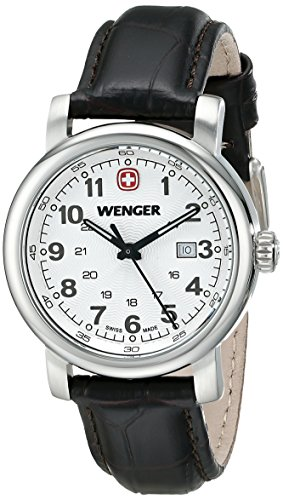 Wenger-Womens-1021101-Analog-Display-Swiss-Quartz-Brown-Watch