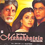 Mohabbatein (Hindi Film / Bollywood Movie Music CD)