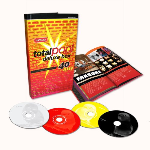 Erasure - Total Pop! Deluxe Box (3CD/1 DVD) - Zortam Music