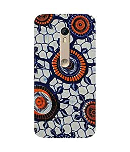 Orange Circles Motorola Moto X Style Case