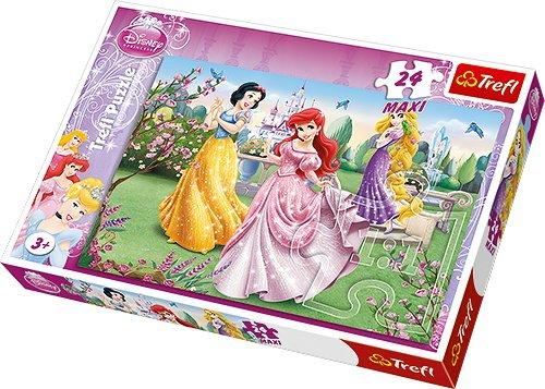 Trefl-Maxi-Disney-Princess-by-The-Fountain-Puzzle-24-Pieces