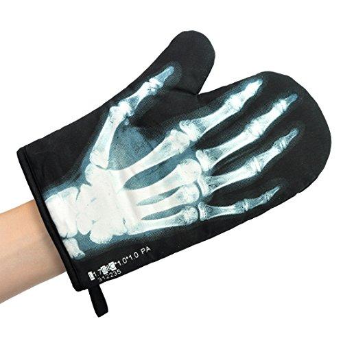 Mustard M13005 X-Ray Glove Guanto da Forno a Forma di Raggi X