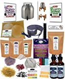 KKamp Continuous Brew Kombucha DELUXE PACKAGE - Stainless Steel w/ Wood Stand + Essential Heat Strip