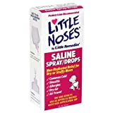 Little Noses Saline Spray/Drops, Non-Medicated 1 fl oz (30 ml)