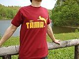 TAMA フロントプリント エンジ 半袖 Tシャツ