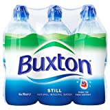 Buxton Natural Still Mineral Water 6 x 750ml