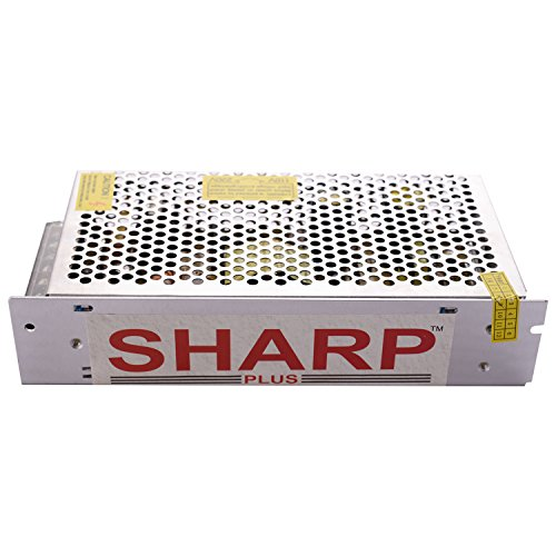 Sharp Plus 12 V 10 Amp Industrial Smps (Silver)