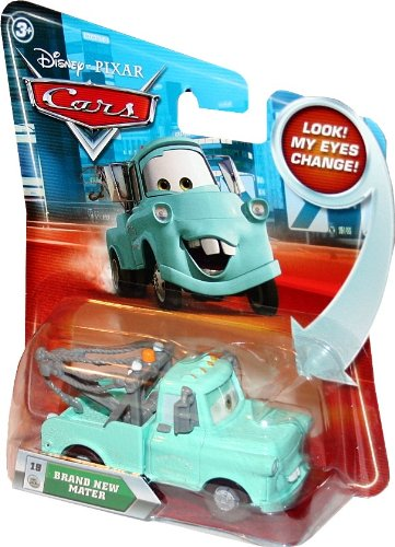 Disney/Pixar Cars Lenticular Eyes Series 2 Brand New Mater #18 1:55 Scale