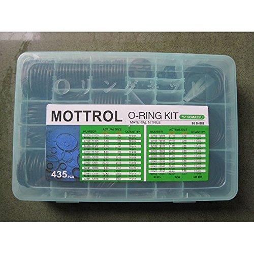 komatsu-o-ring-box-435pcs-applicable-to-excavator-pc200-pc300-pc400-pc60-aftermarket-replacement-par