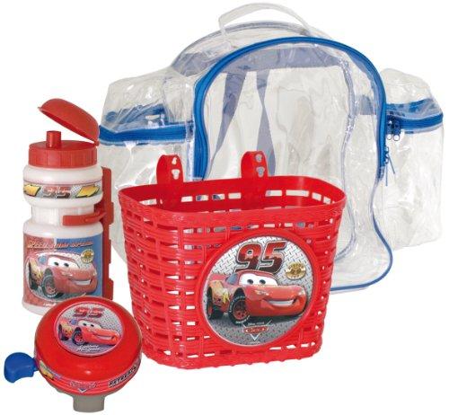 Disney Fahrradzubehör Set Rucksack Korb Flasche