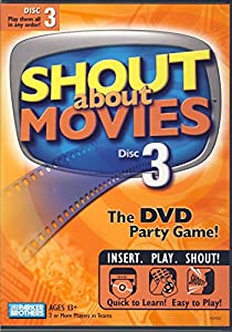 Shout About Movies, Volume 3 - DVD Party Game