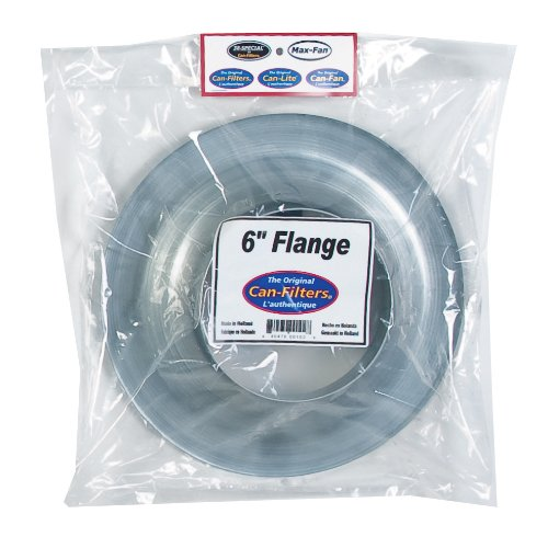 Can Steel Flange, 6-Inch (Can Fan Filter compare prices)