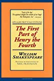 William Shakespeare King Henry IV: Pt. 1 (Applause Shakespeare Library: The Folio Texts) (Applause First Folio Editions)