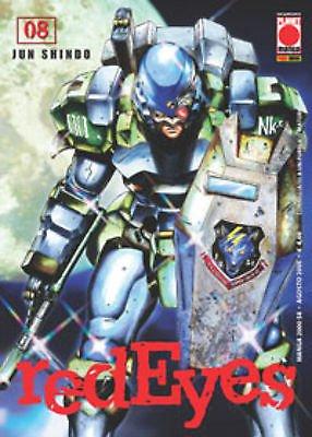 Red Eyes n. 8 di Jun Shindo - SCONTO 50% - ed. Planet Manga