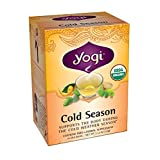 Yogi Teas Cold Season Tea Bags, 16 Count