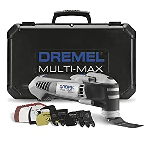 dremel mm40 05 multi max 3 8 amp oscillating tool kit with. Black Bedroom Furniture Sets. Home Design Ideas