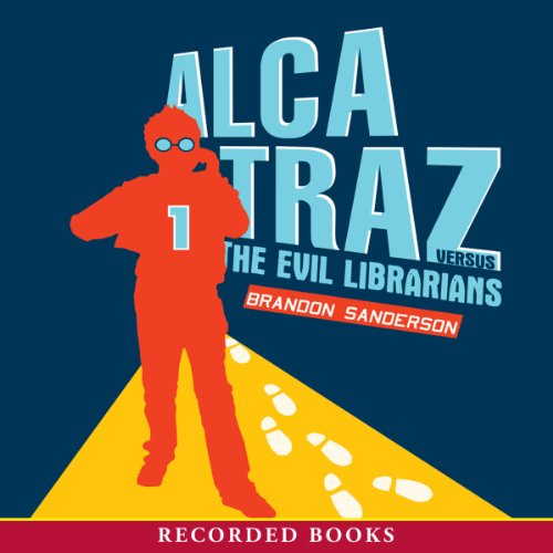Alcatraz versus the Evil Librarians Audiobook | Brandon