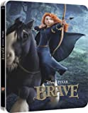 Brave 3D Blu-ray Gloss Finish Steelbook (Two-Disc Blu-ray / 3d + 2D) (2013) Zavvi Exclusive Limited to 4,000 copies, Region Free UK Import
