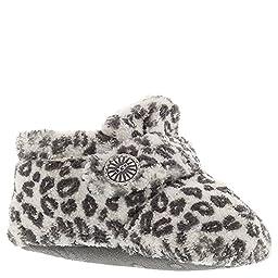UGG Kids Baby Girl\'s Bixbee Leopard (Infant/Toddler) Snoe Leopard Slipper XS (US 0-1 Infant) M