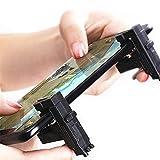 Trigger Button Aim Key Shooter for Mobile Joystick Gamepad L1 R1 PUBG (Color: Black)
