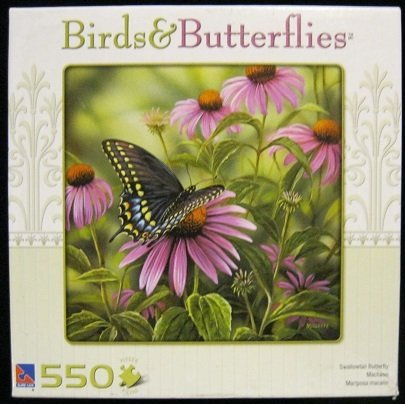Birds & Butterflies Swallowtail Butterfly ~ 550 Piece Puzzle
