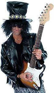 Slash, Guns And Roses Costume