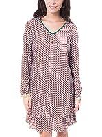 RIVERSIDE Vestido Trebol (Granate)