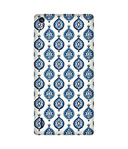 India Print Printed Back Cover Case For Huawei Ascend P7