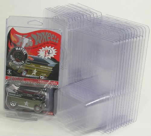 Hot Wheels Blister Pack Cover Protectors, 48 pack