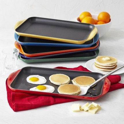 Le Creuset Extra-Large Double-Burner Griddle L2033-405H , Indigo