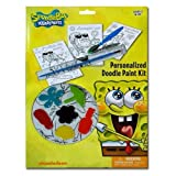 Sponge Bob Personalized Doodle Paint Kit
