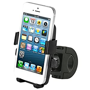 iOttie One-Touch Bike Mount Holder for iPhone 4S 4 3GS Samsung Galaxy S3 S2 Epic Touch 4G HTC EVO 4G Rhyme DROID RAZR BIONIC INCREDIBLE 2 CHARGE Google Nexus BlackBerry Torch LG Revolution GPS Compact Size 360 degree Rotatable