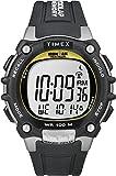 Timex -T5E231SU - IRONMAN Triathlon 100 LAP FLIX - Montre Sport Homme - Bracelet Résine - Chronomètre - Mémoire de 100 circuits