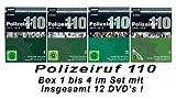 Polizeiruf 110 - Box  1 - 4: 1971-1975 (DDR TV-Archiv) (12 DVDs)