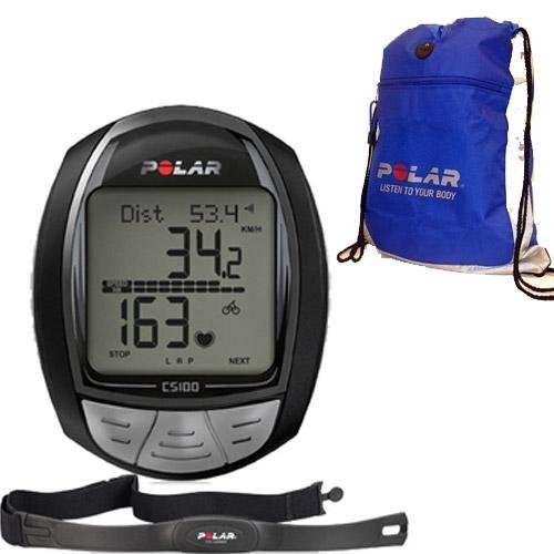 Cheap Polar CS100 Cycling Computer with T-31 and FREE Polar Cinch Bag (CS-100Kit)