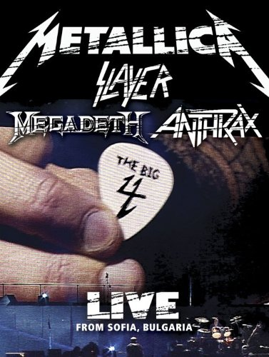 Metallica Slayer Megadeth Anthrax : The Big 4 - Live from Sofia, Bulgaria (5 CD 2 DVD Set) by Metallica, Megadeth, Slayer and Anthrax