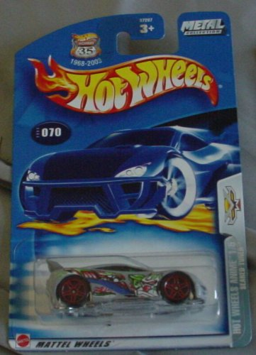 Hot Wheels 2003-070 Anime 1/5 GRAY Seared Tuner Highway 35 1:64 Scale - 1